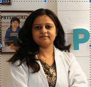 Physiotherapist Anubha Singhai